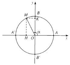 giá trị lượng giác của một cung